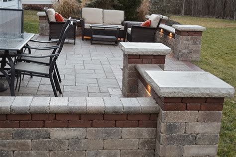 Outdoor Living Outdoor Kitchens Columbus Ohio Patio Paver Lights