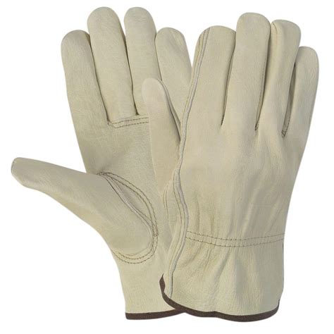 Cowhide Leather Work Gloves - west chester grain cowhide leather large work gloves