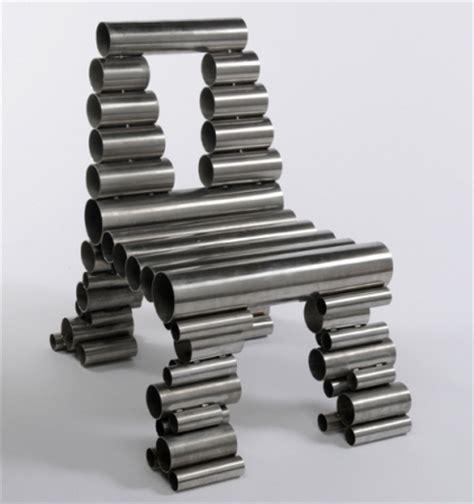Bathroom Counter Ideas Osian Batyka Williams Reclaimed Metal Tube Chairs