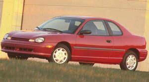 manual repair free 1998 dodge neon seat position control 1997 dodge neon specifications car specs auto123