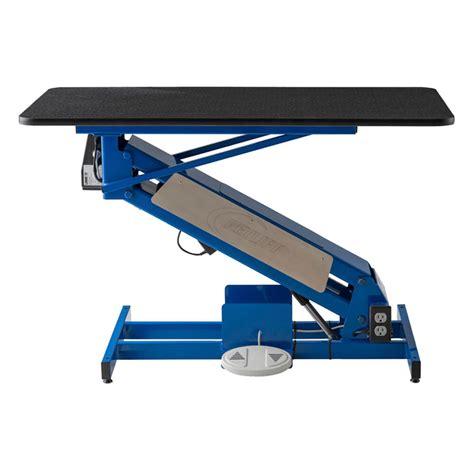 table top grooming table petlift lowrider grooming table w rotating table top