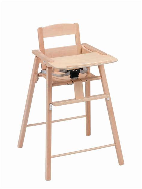 chaise haute bois bébé chaise haute pliante en bois naturel kid or a l heure du