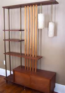 Retro Room Divider Items Similar To Vintage 1960 S Mid Century Modern Room Divider Shelf With Glass Accent