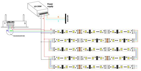wiring diagram for led light connected in series images