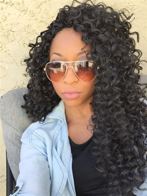 types of freetress braid hair freetress gogo curl crochet braids instagram