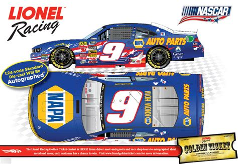 autographed chase elliott 2014 napa quot nascar an american