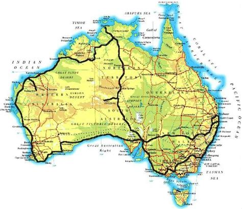 printable australian road maps c spots free cheap caravan parks reviews maps