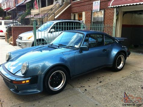 porsche 930 turbo blue 1980 pacific blue porsche 930 turbo low miles 33k
