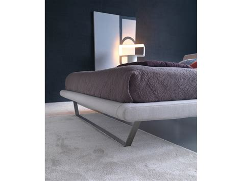bed with removable cover plaza by bolzan letti