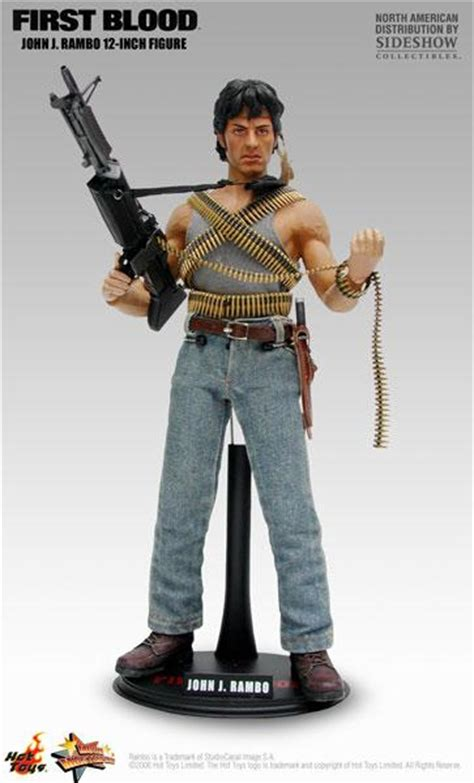Toys Blood J Rambo toys mms21 rambo blood j rambo