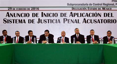 el nuevo sistema de justicia penal acusatorio entra en vigor el nuevo sistema de justicia penal