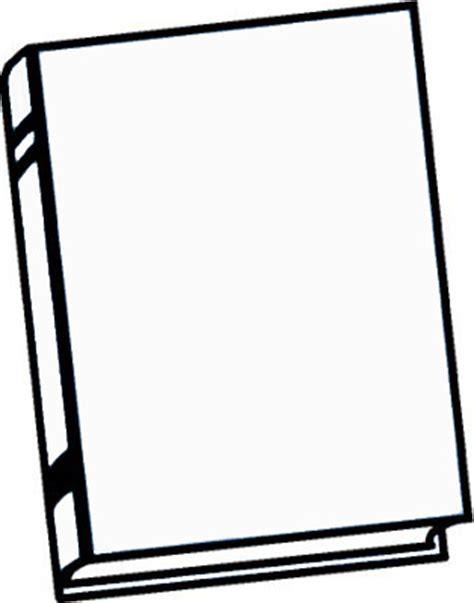 Blank Book Template blank book cover template clipart best