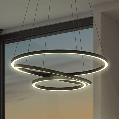 circular led light vonn lighting tania trio 32 inches led adjustable hanging