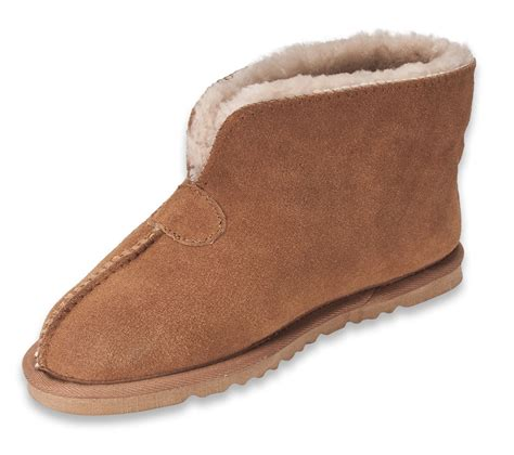 sheepskin slippers nordvek womens genuine sheepskin slippers boots