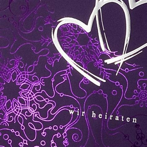 Einladungskarten Hochzeit Lila by Einladungskarte Quot Mabel Quot Einladung F 252 R Hochzeitsg 228 Ste