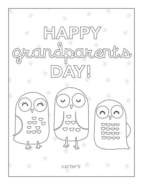 happy birthday coloring pages for grandparents free happy grandparents day coloring pages