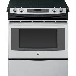 Lowes Cooktop Electric Shop Ge Smooth Surface 5 Element Slide In Convection
