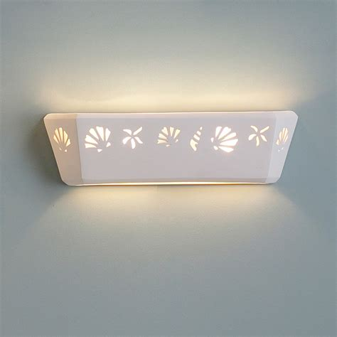 beach bathroom lighting 21 quot starfish seashells bathroom light fixture fabby