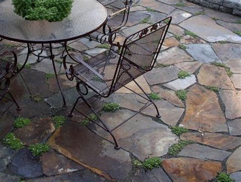 Patio Surfaces Options by Flagstone Joints Landscaping Network