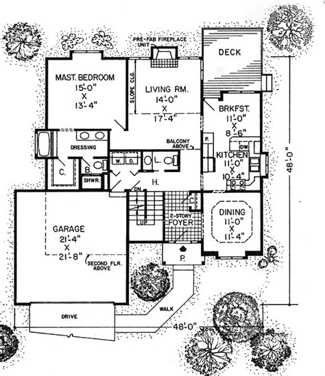 practical house design practical and stylish plan 11048g 1st floor master suite bonus room loft narrow