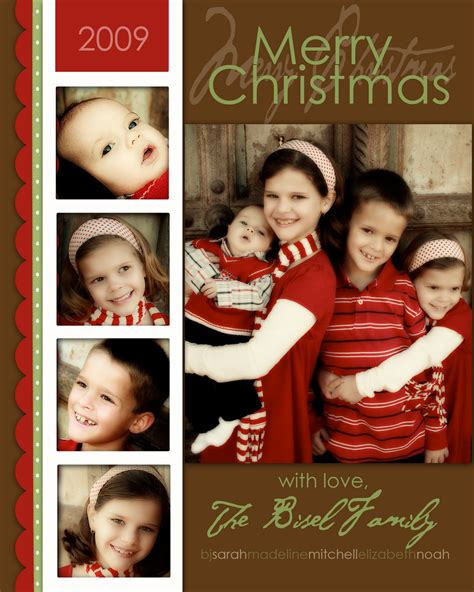 Family Portrait Card Template by Milkandhoneydesigns My Loss Your Gain Free