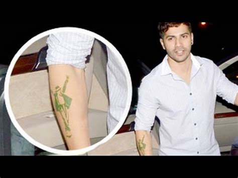 tattoo mp3 abcd 2 varun dhawan gets michael jackson tattoo abcd 2 official