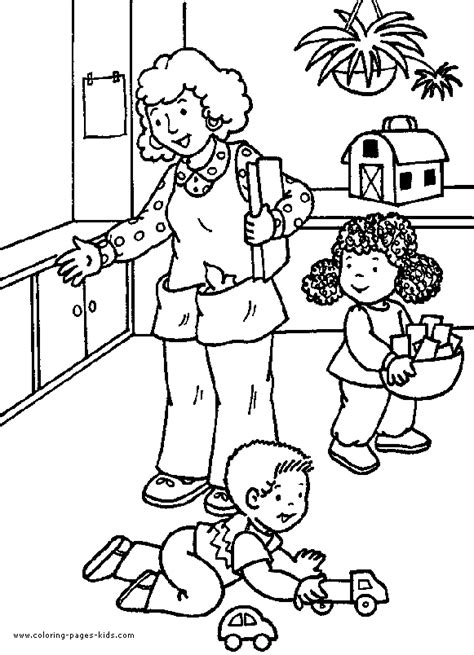 school color page coloring pages for kids educational