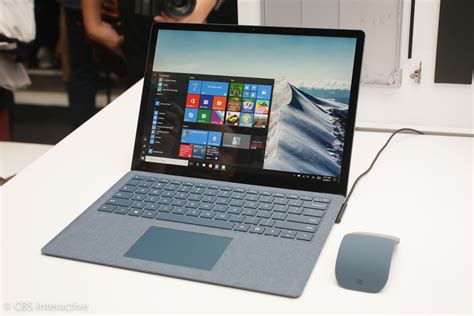 Laptop Microsoft Surface Pro surface laptop is microsoft s 999 flagship for windows 10 s cnet