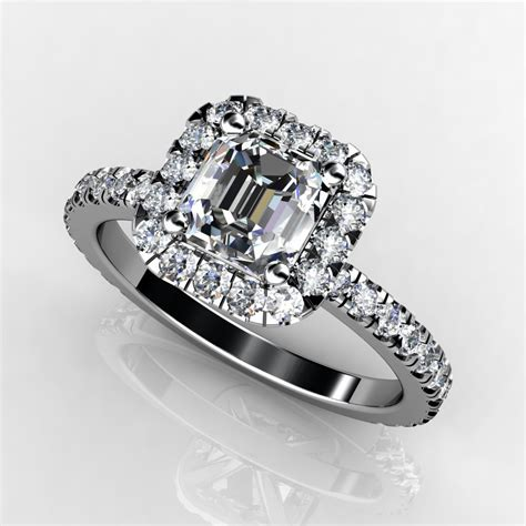 1 5 ct halo engagement ring top onewed