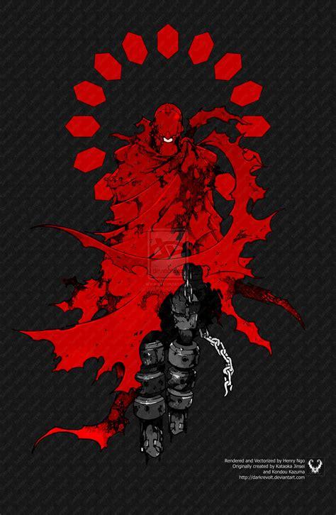 Red Man Deadman Wonderland   the red man by darkrevolt on deviantart