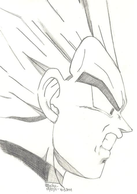 drawing doodle characters z character drawings how to draw goku easy