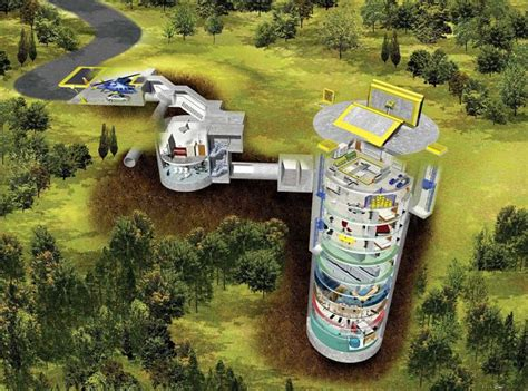 House Floor Plans With Hidden Rooms by Apocalypse Doomsday Shelter Being Built Below Kansas