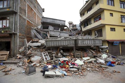 earthquake kerala a collapsed building after an earthquake hit in kathmandu