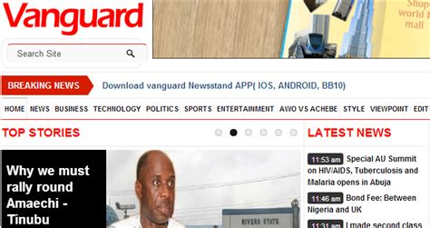 nigerian newspapers read them online nigeria nigerian newspapers for latest nigerian news