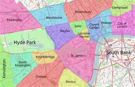 london sections map file areas of central london i png wikimedia commons