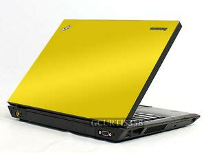 yellow vinyl lid skin cover decal fits ibm lenovo thinkpad t450 laptop ebay