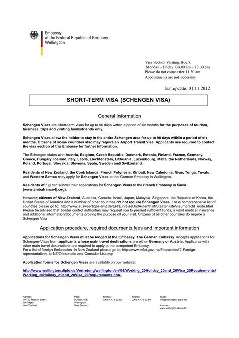 Sample Cover Letter For Visa Application Spain Camper And Motorhome