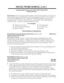 social work resume template resume sles better written resumes