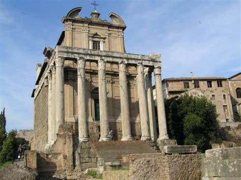 one forum tempelj na foro romano rimski forum