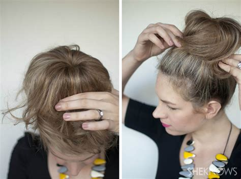 how to do knot hairstyles how to top knot hairstyle tutorial