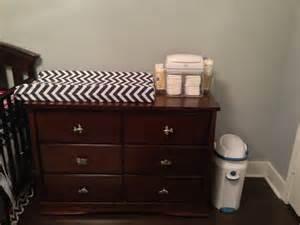 changing pad on dresser bukit