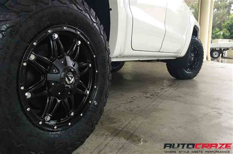 white toyota land cruiser fuel hostage wheels goodrich tyre  wheels rims  tyre shops