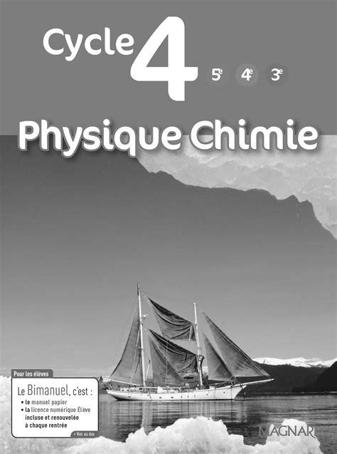 Physique-Chimie Cycle 4 (2017) - Livre du professeur