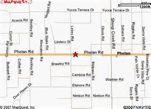 phelan ca map