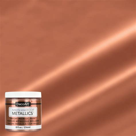Kitchen Color Paint Ideas americana decor 8 oz metallic rose gold paint admtl03 98