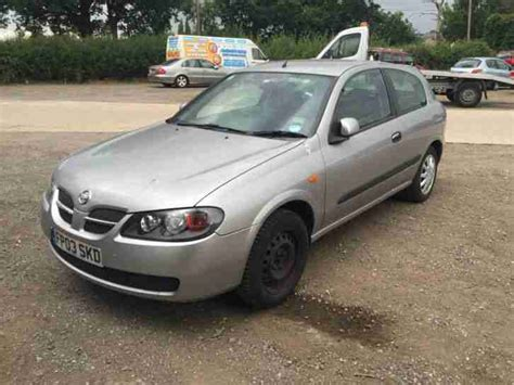 almera nissan car nissan 2003 almera se spares or repair car for sale