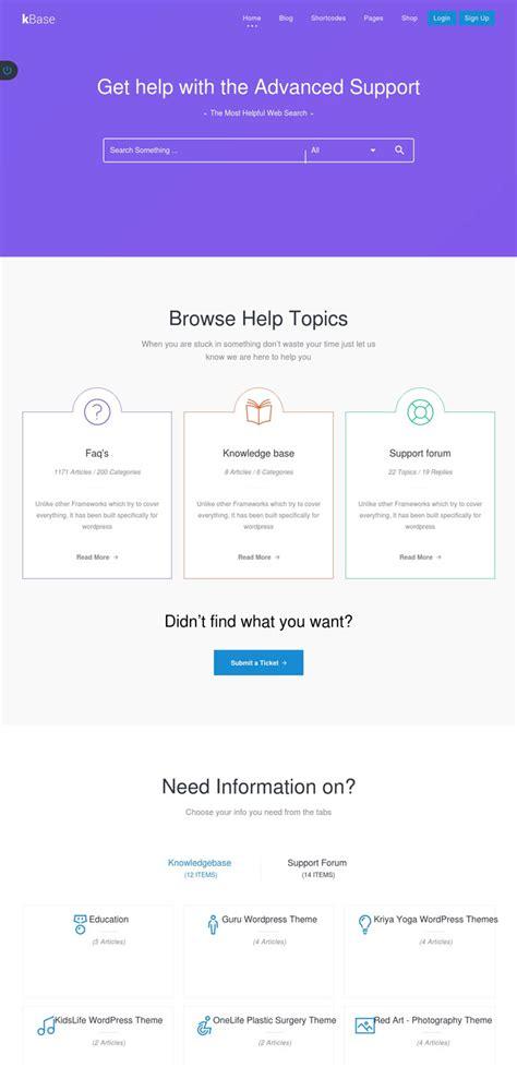 free wordpress themes knowledge base 15 professional knowledge base and wiki wordpress themes