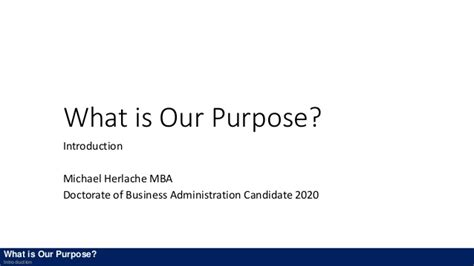Define Mba Candidate by What Is Our Purpose