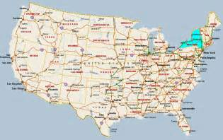 cities map new york map with cities travel map vacations