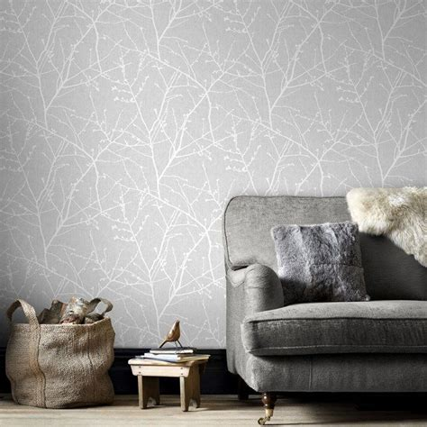 wallpaper living room pinterest innocence grey wallpaper by graham and brown woonideeen